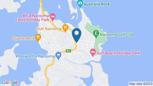 Coastal Comfort Motel Map