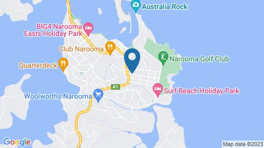 Anchors Aweigh Narooma Map