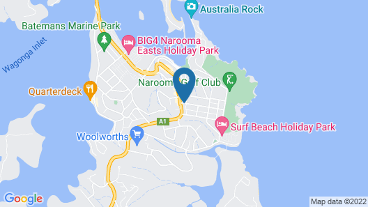 Holiday Lodge Motor Inn Map