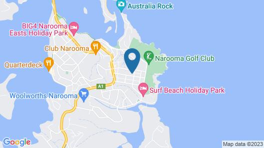 Narooma Palms Holiday Apartments Map