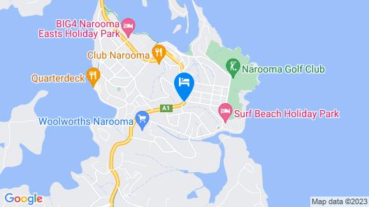 Horizon Apartments Narooma Map