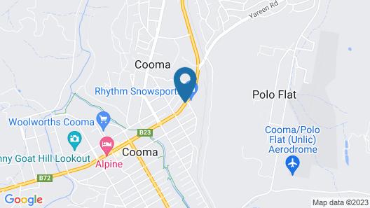 Kinross Inn Map