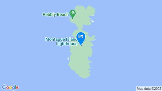 Montague Island Lighthouse Map