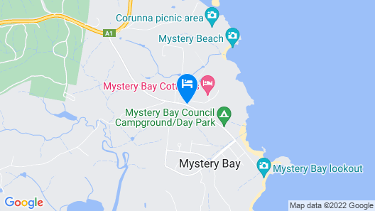 Mystery Bay Cottages Map