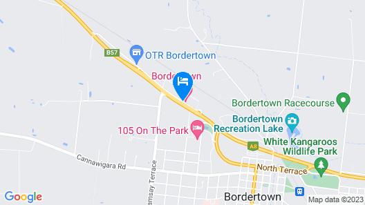 Bordertown Motel Map