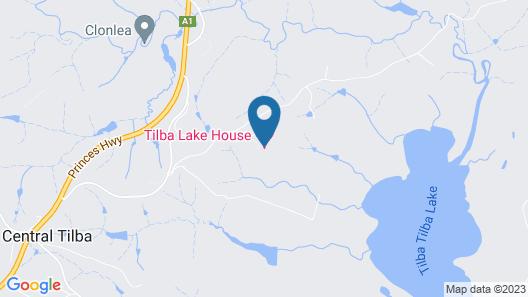 Tilba Lake House Map