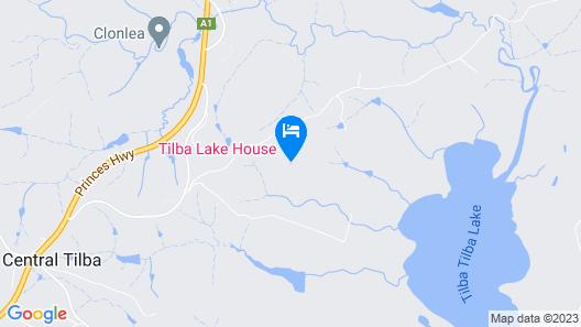 Tilba Lake Pods Map