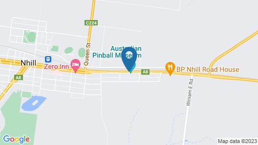 Nhill Oasis Motel Map