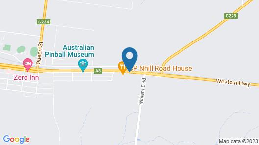 Nhill Holiday Inn Map