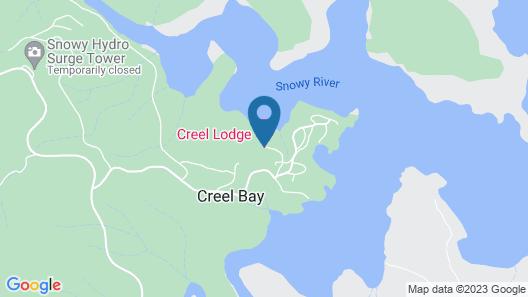Creel Lodge Map