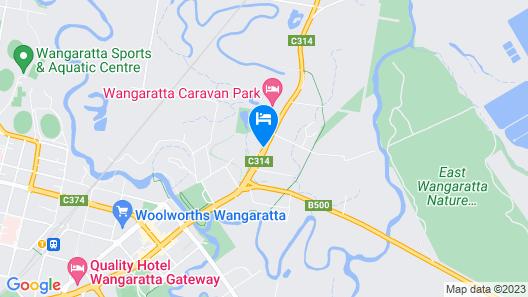Advance Motel Map