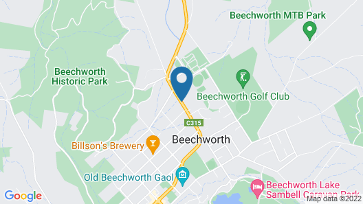 Beechworth Motor Inn Map
