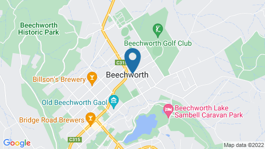 Erindale Guest House Map