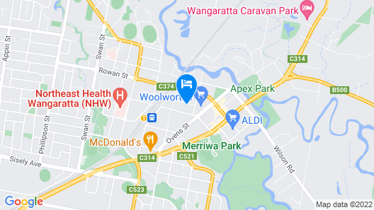 Quest Wangaratta Map