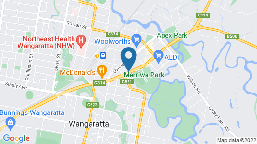 City Reach Motel Map