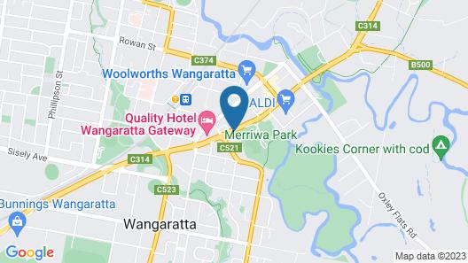 Parkview Motor Inn Map