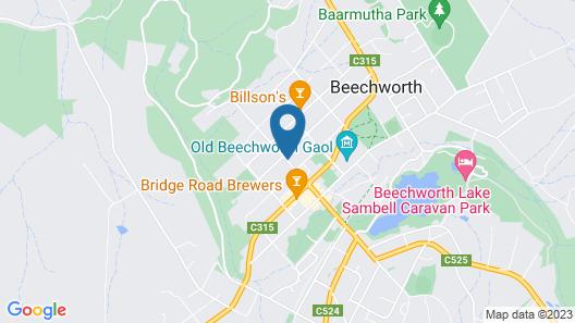 Beechworth Carriage Motor Inn Map