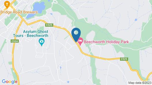 Beechworth Holiday Park Map