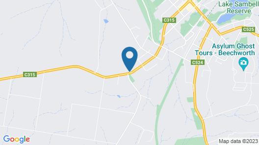 Beechworth on Bridge Map