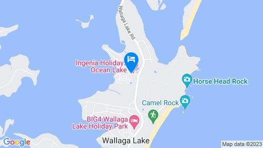 Ingenia Holidays Ocean Lake Map