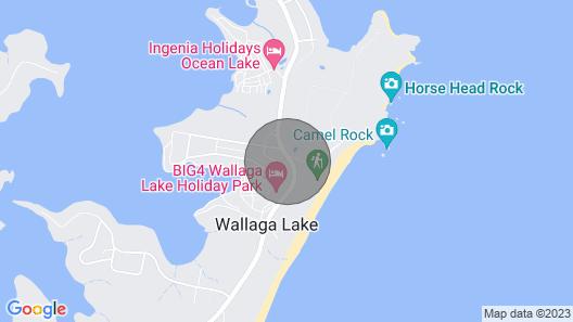 158 Wallaga Lake Road Map