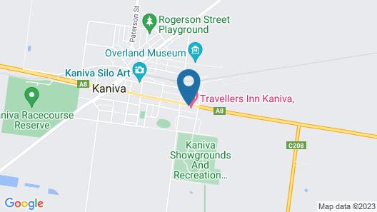 Kaniva Colonial Gardens Motel Map