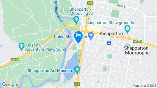 Quest Shepparton Map