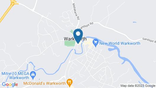 Warkworth Lodge Map