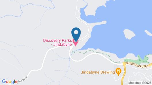Discovery Parks – Jindabyne Map