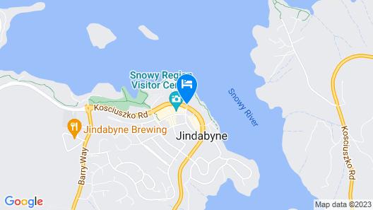 Lake Jindabyne Hotel Map