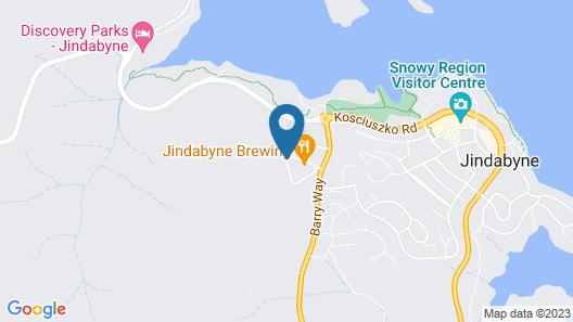 Panorama Jindabyne Map