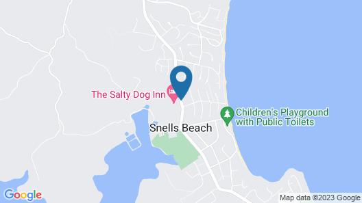Salty Dog Inn Map