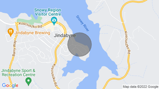 Absolute Lakefront, Stunning Position Right in Jindabyne Map
