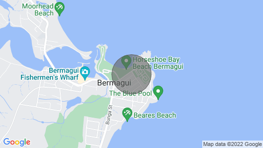 Bermagui Bay Beach Bungalow Map