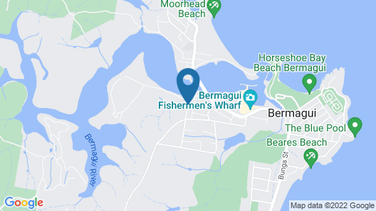 Anchorage Apartments Bermagui Map