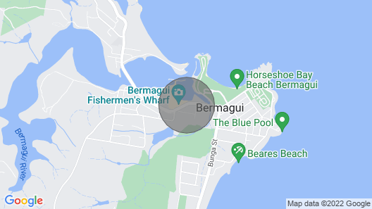 Bermagui Bay Front Beach House Map