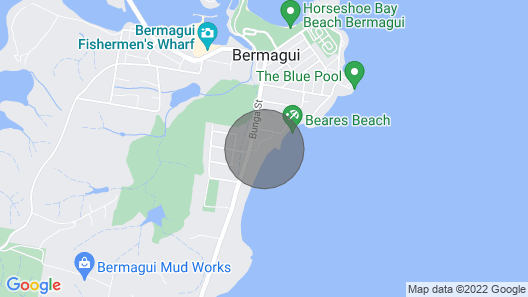 17 Dickinson Ave - Beachfront Map