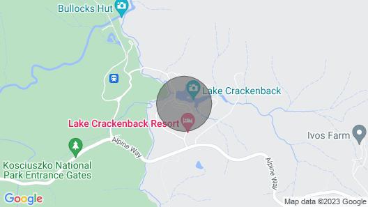 Aster Chalet at Lake Crackenback Resort & Spa Map