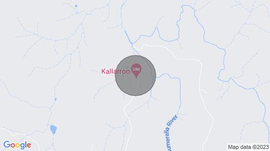 Kallarroo Cottage in Snowy Mountains Map