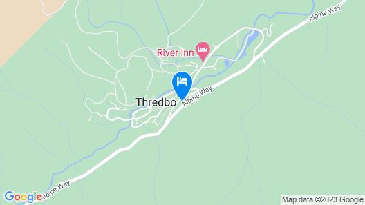 Aneeki Ski Lodge Map