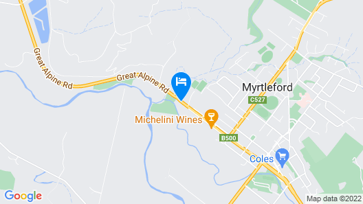 Motel On Alpine Map