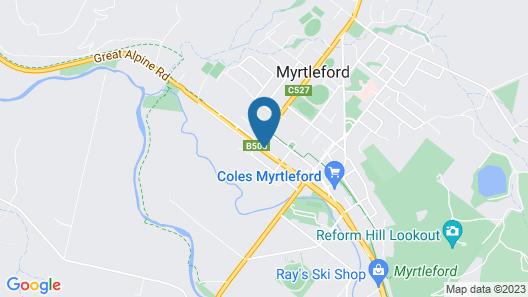 Golden Leaf Motor Inn Map