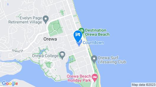 Ramada Suites Nautilus Orewa Map