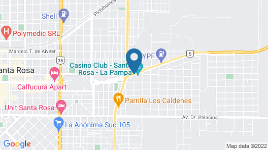 Mercure Santa Rosa La Pampa Map