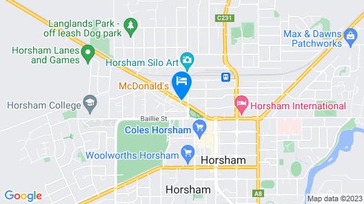 Ploughmans Motor Inn Map