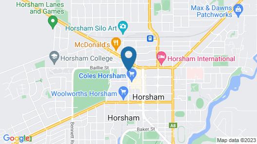 May Park Executive Apartments Map