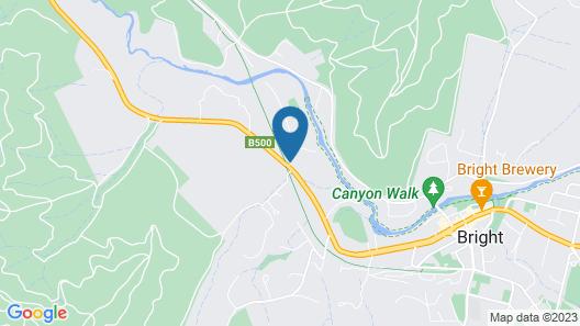 Ovens Valley Motor Inn Map