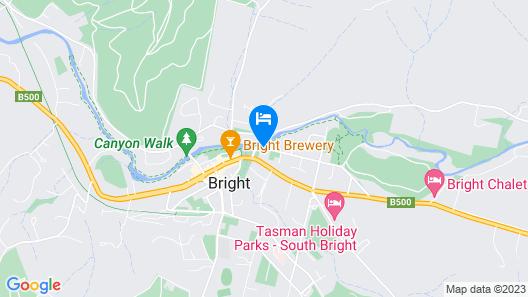 Bright Motor Inn Map