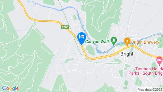 High Country Motor Inn Map