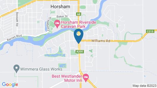 Glynlea Motel Map